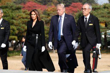 Нова слика на Меланија Трамп во Сеул