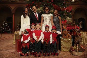"""Семејната слика на семејството Обама ги направи многумина тажни """"НИ НЕДОСТИГАТЕ."""""""