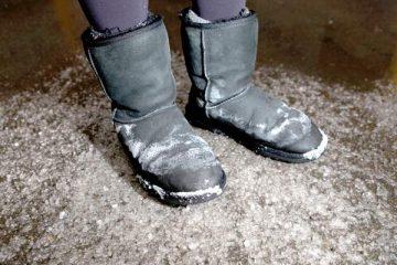 Како да ги заштитите вашите обувки од солта.