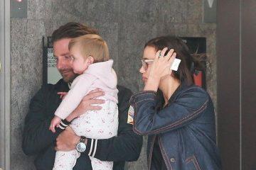 Ирина Шајк и нејзината преслатка ќерка со руса коса (ФОТО)
