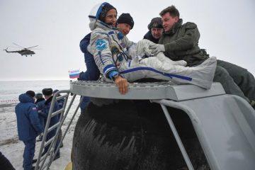Астронаутите од Меѓународната вселенска станица слетаа на Земјата