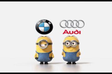 Видео: Погледнете и размислете дали Audi Quattro или BMW X-drive