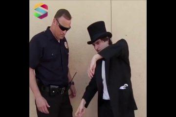Видео: Како магионичарот си поигра со полицаецот