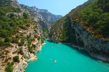 Единствена во Европа: Тиркизната река Ѓорѓи ду Вердон