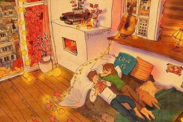 Корејска илустраторка покажува за најдобрите моменти што љубовта може да ги донесе (ФОТО)