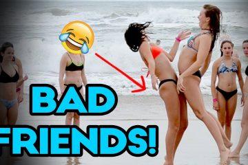 Кога пријателите ќе се истурат врз вас (ВИДЕО)