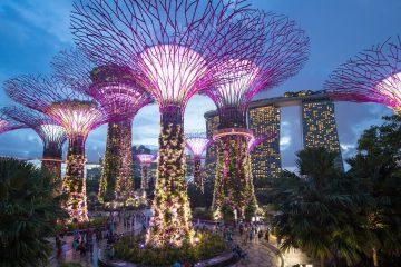 Механичка шума во Сингапур.