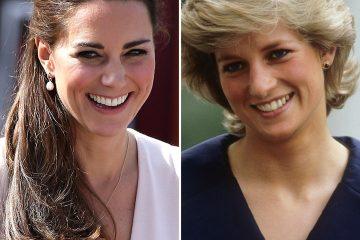 Princess Diana & Kate Middleton имаат многу слични прекрасни комбинации ( ВИДЕО)