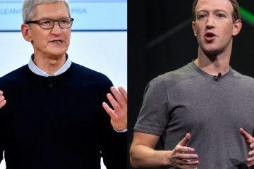 Директорот на Епл не би сакал да е во кожата на Зукерберг.