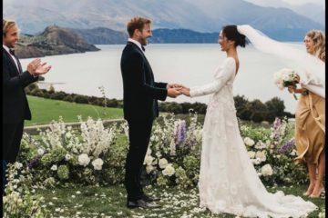 Nicole Warne,познатата блогерка,го кажа суднобосното 'ДА': Погледнете го видео од венчавката,беше чиста модна фантазија