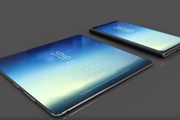 Samsung најавува чудо од Galaxy X, телефон со три екрани.