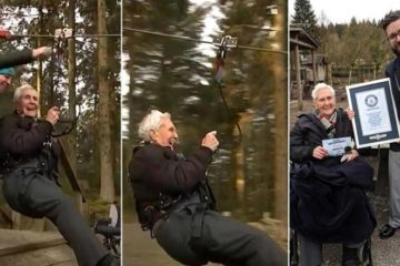 Наполнил 106 години и роденденот го прославил на најлуд начин.