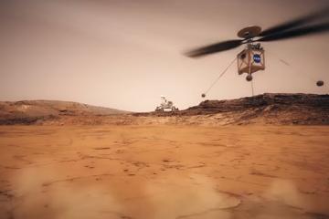 За првпат во историјата: НАСА испраќа хеликоптер на Марс.