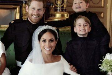 Погледнете ги свадбени фотографии на принцот Хари и Меган Маркл
