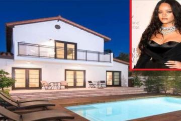 Ограбена е куќата на познатата пејачка Ријана.
