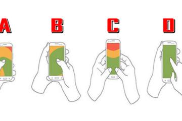 Начин на кој држите телефон го одредува вашиот карактер
