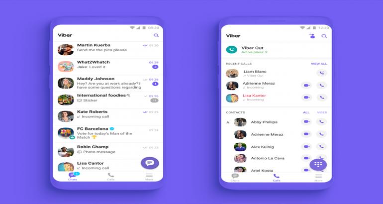Viber претстави нов изглед и нови додатни функции