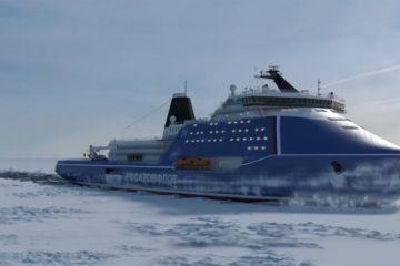 """Русија ќе го гради најмоќниот мразокршач на сите времиња: """"Иднината на цивилната флота"""" (ВИДЕО)"""