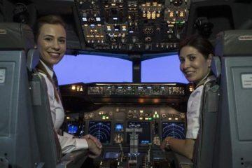 Турска авиокомпанија има 211 женски пилоти.