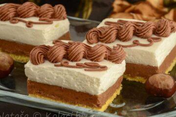 Коцки од костен – неодолива торта