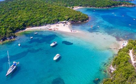 Јонски брег, Грција
